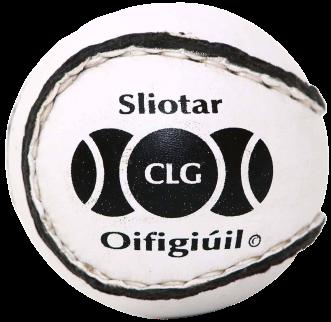 Balle de hurling appelée sliotar